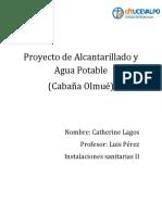 Proyecto de Alcatarillado y Agua Potable