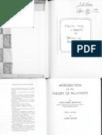 Bergmann Relativity Part1