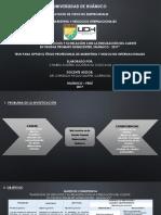 DIAPOSITIVAS TESIS Marketing de Servicios y Fidelizacion Del Cliente