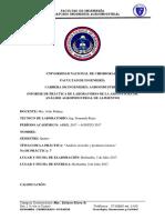 Informe 7 Analisis de Leche