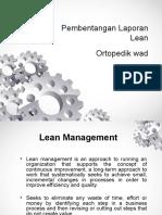 Laporan Lean Ortopedik (1)