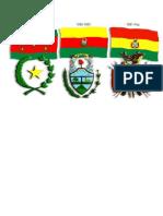 Las 3 Banderas Que Tubo Bolivia