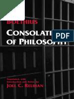Boethius, Consolation of Philosophy (Inglés)