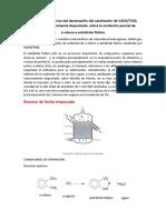 Evaluación Numérica Del Desempeño Del Catalizador de V2O5