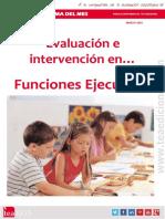 Evaluación e intervención en funciones ejecutivas