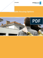 Affordable Housing Options