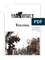 FFRPG 4th Edition - Final Fantasy VI Worldbook