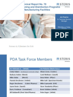 Fundamentals of Cleaning and Disinfection Programs for Aseptic Manufacturing Facilities ppt