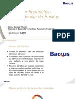 Obras Por Impuestos. La Experiencia de Backus