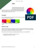 Tetradic Color Scheme - Colorpedia
