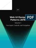 Uxpin Web Ui Design Patterns 2016 Volume