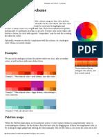 Analogous Color Scheme - Colorpedia