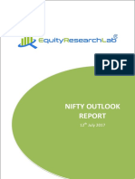 Nifty Outlook Report 12th July