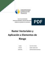 Sig Raster y Vectorial