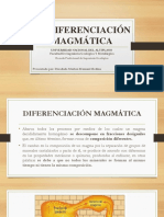 La Diferenciación Magmática