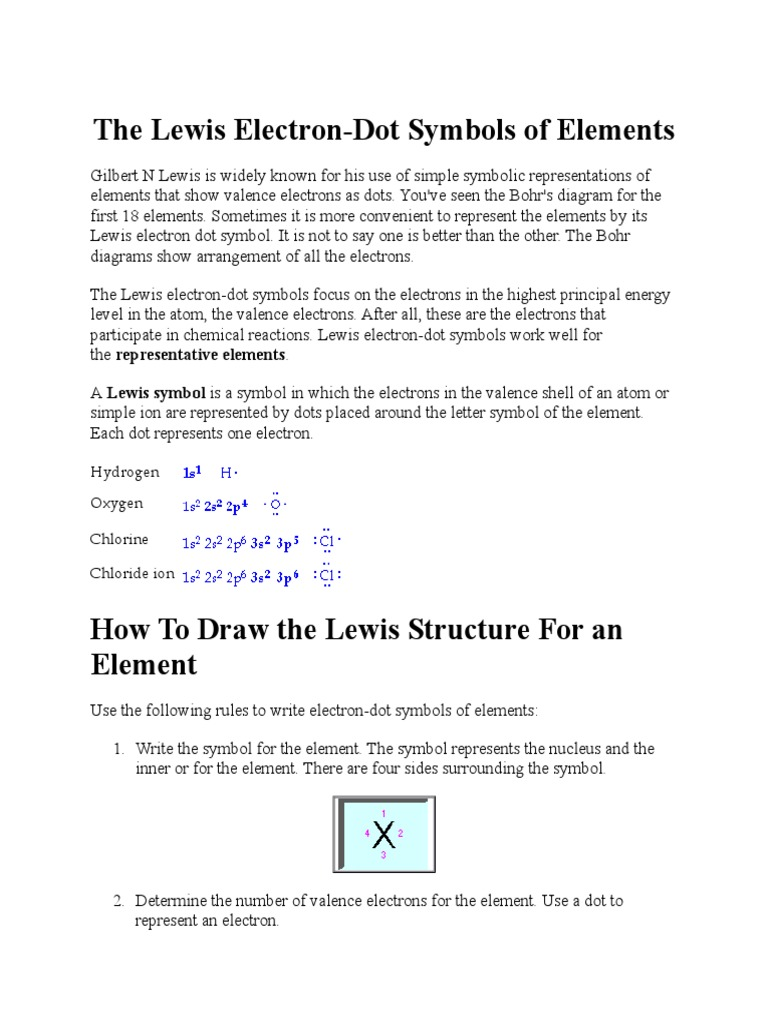 The Lewis Electron