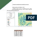 Percepcion Remota y Sistema de Informacion Geografica