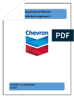 Chevron Lubrican Plc re structuring program