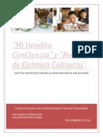 PROYECTO FINAL DCSC Skechs Científicos Contra La Desnutrición en Ahuachapán