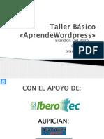 01 - Taller Básico «AprendeWodpress».pptx