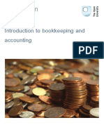Introduction to Bookkeeping and Accounting Printable