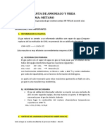 Planta de Amoniaco y Urea Grupo1