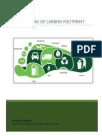 Reducing Corbon Foot Prints