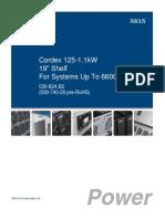 Cordex 110-1.1kW - Tehnicke Karakteristike