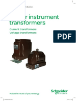 Schneider - Indoor Instrument Transformers
