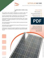 Set Solar m 1300
