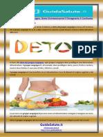 Dieta Del Gruppo Sanguigno, Dieta Disintossicante E Dimagrante a Confronto