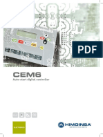 Auto-start Digital Controller CEM6 Ing