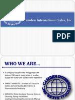 camden company presentation 2017