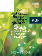 2015 Professional Basque Tourism Guide