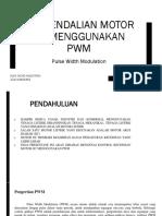 KONTROL MOTOR DC MENGGUNAKAN PWM.pptx