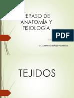 REPASO DE ANATOMÍA Y FISIOLOGÍA