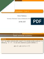 Geometrie IDD Curs3
