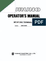 DSC6 DSC6A Operator's Manual H 12-14-99