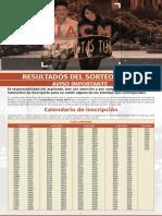 Resultados Convocatoria 2017-II