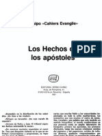 021 Los Hechos de Los oles Equipo Cahiers Evangile