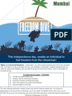 Freedom Dive Crowdfunding
