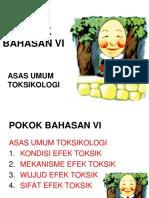 Pb. Vi. Toksi-Asas Umum