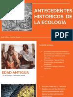 Antecedentes de La Ecologia