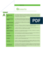 Glosario Gestion Fiscal