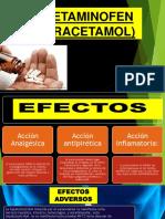 Acetaminofen (Paracetamol)