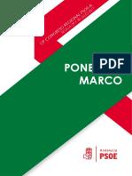 Ponencia Marco - 13 Congreso Psoe-A (1)