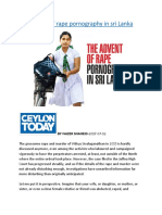The advent of rape pornography in sri Lanka.docx