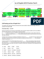 Engexam.info-CAE Reading and Use of English 2015 Practice Test 9