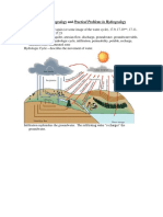 Hydrogeology and Practical Problems in Hydrogeology