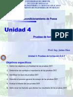 Unidad 4 Pruebas de Formación DST